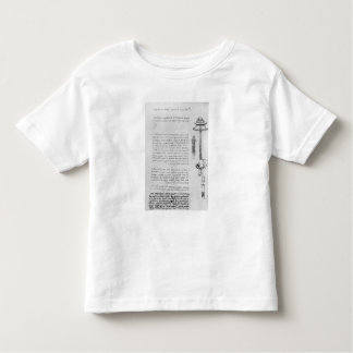 Study of floater with breathing tubes for diver toddler T-Shirt