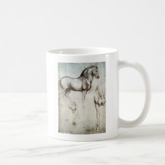 Study of horse. coffee mug