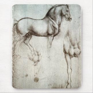 Study of horses - Leonardo da Vinci Mouse Mat