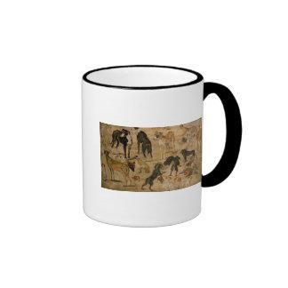 Study of Hounds, 1616 Mugs