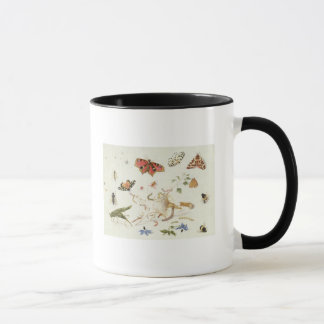 Study of Insects and Flowers Mug