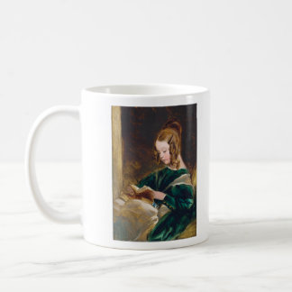 Study of Rachel Russell by Edwin Henry Landseer Basic White Mug