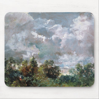 Study of Sky and Trees (oil on canvas) Mouse Mat