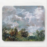 Study of Sky and Trees (oil on canvas) Mouse Pad