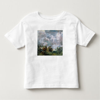 Study of Sky and Trees (oil on canvas) Toddler T-Shirt