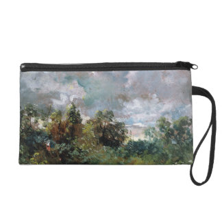 Study of Sky and Trees (oil on canvas) Wristlet