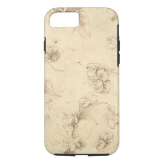 Study of the Flowers of Grass-like Plants (Briza M iPhone 8/7 Case