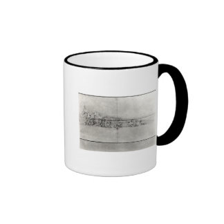Study of the frieze from a pediment ringer mug