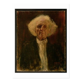 Study of the Head of a Blind Man (oil on canvas) Postcard