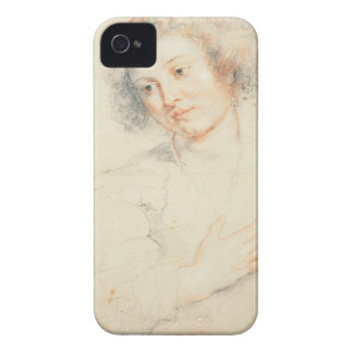 Study of the Head of St. Apollonia (drawing) Case-Mate iPhone 4 Cases