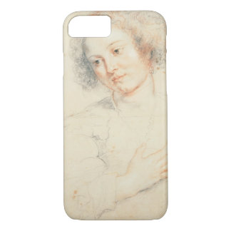 Study of the Head of St. Apollonia (drawing) iPhone 8/7 Case