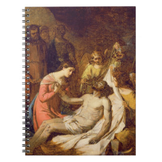 Study of the Lamentation on the Dead Christ (oil o Notebook