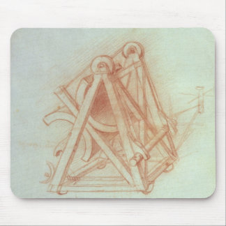 Study of the Wooden Framework with Casting Mouse Pad
