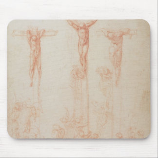 Study of Three Crosses Mouse Mat