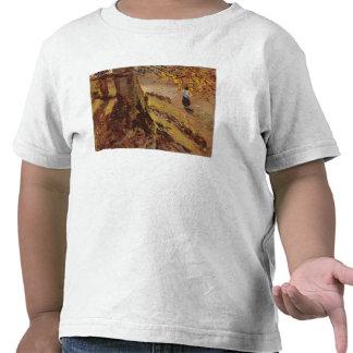 Study of tree trunks shirts
