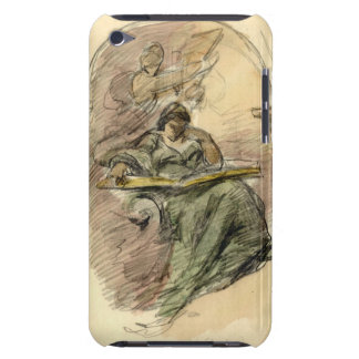 Study of Woman Reading 1898 iPod Touch Case-Mate Case