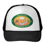 Studying Drinking Team Hats