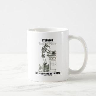 Studying Has Stripped Me To The Bone (Skeleton) Coffee Mug