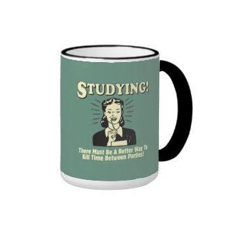Studying: Kill Time Ringer Mug