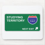 Studying Next Exit Mouse Pads