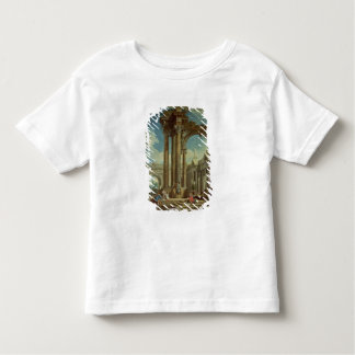 Studying Perspective among Roman Ruins Toddler T-Shirt