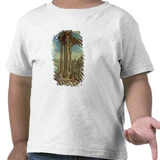 Studying Perspective among Roman Ruins T-shirts
