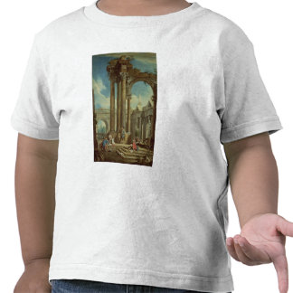 Studying Perspective among Roman Ruins Tshirts
