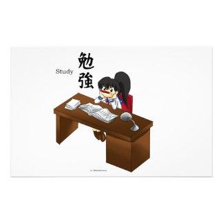 Studying Stationery