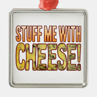 Stuff Me Blue Cheese Christmas Ornament