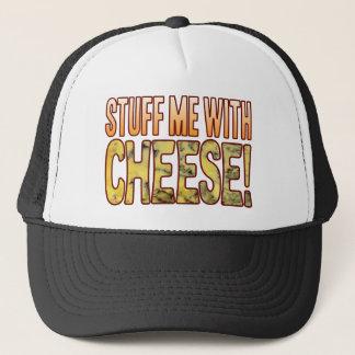 Stuff Me Blue Cheese Trucker Hat