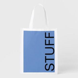 STUFF REUSABLE GROCERY SHOPPING BAG