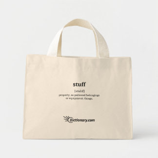 Stuff Tote Bag