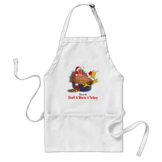 Stuffed and Basted Turkey (Beer) Standard Apron