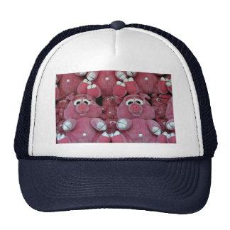 Stuffed animals at amusement park trucker hat