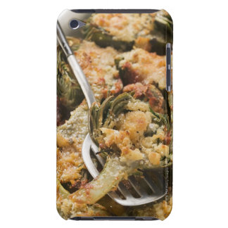 Stuffed artichokes with gratin topping iPod touch covers