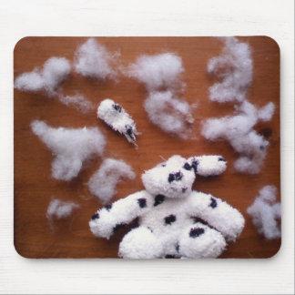Stuffed dog brains mouse mat