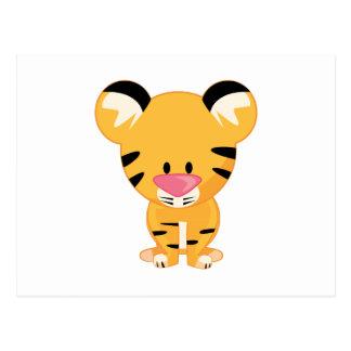 Stuffed Tiger Postcard