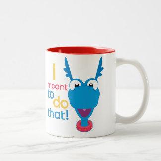Stuffy - I Meant to do That 2 Two-Tone Coffee Mug