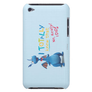 Stuffy - I Totally Knew that iPod Touch Case-Mate Case