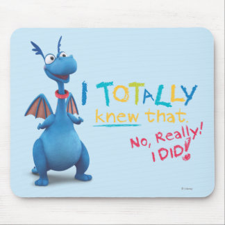 Stuffy - I Totally Knew that Mouse Mat