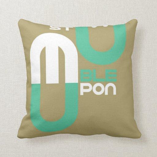 Stumpleupon Pillow