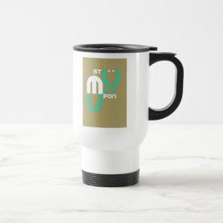 Stumpleupon Stainless Steel Travel Mug