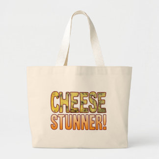 Stunner Blue Cheese Large Tote Bag