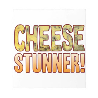 Stunner Blue Cheese Notepad