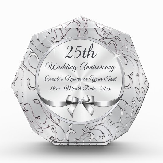 What Is The 25th Wedding Anniversary Gift: Stunning 25th Wedding Anniversary Gift Ideas