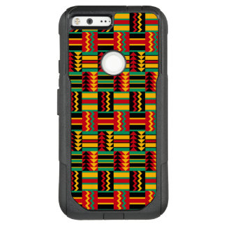 Stunning Africa Weave Pattern Red Yellow Green OtterBox Commuter Google Pixel XL Case