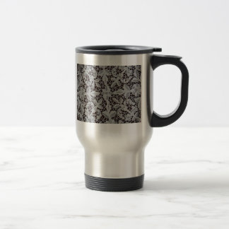Stunning Antique Venise Lace Stainless Steel Travel Mug