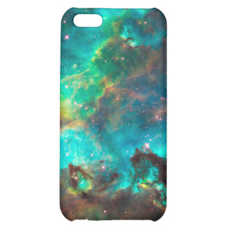 Stunning Aqua Star Cluster Cover For iPhone 5C