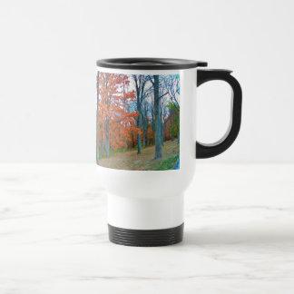 Stunning Autumn Scenery Stainless Steel Travel Mug