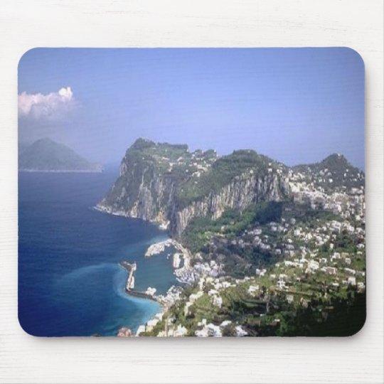 Stunning Capri, Italy, mousepad